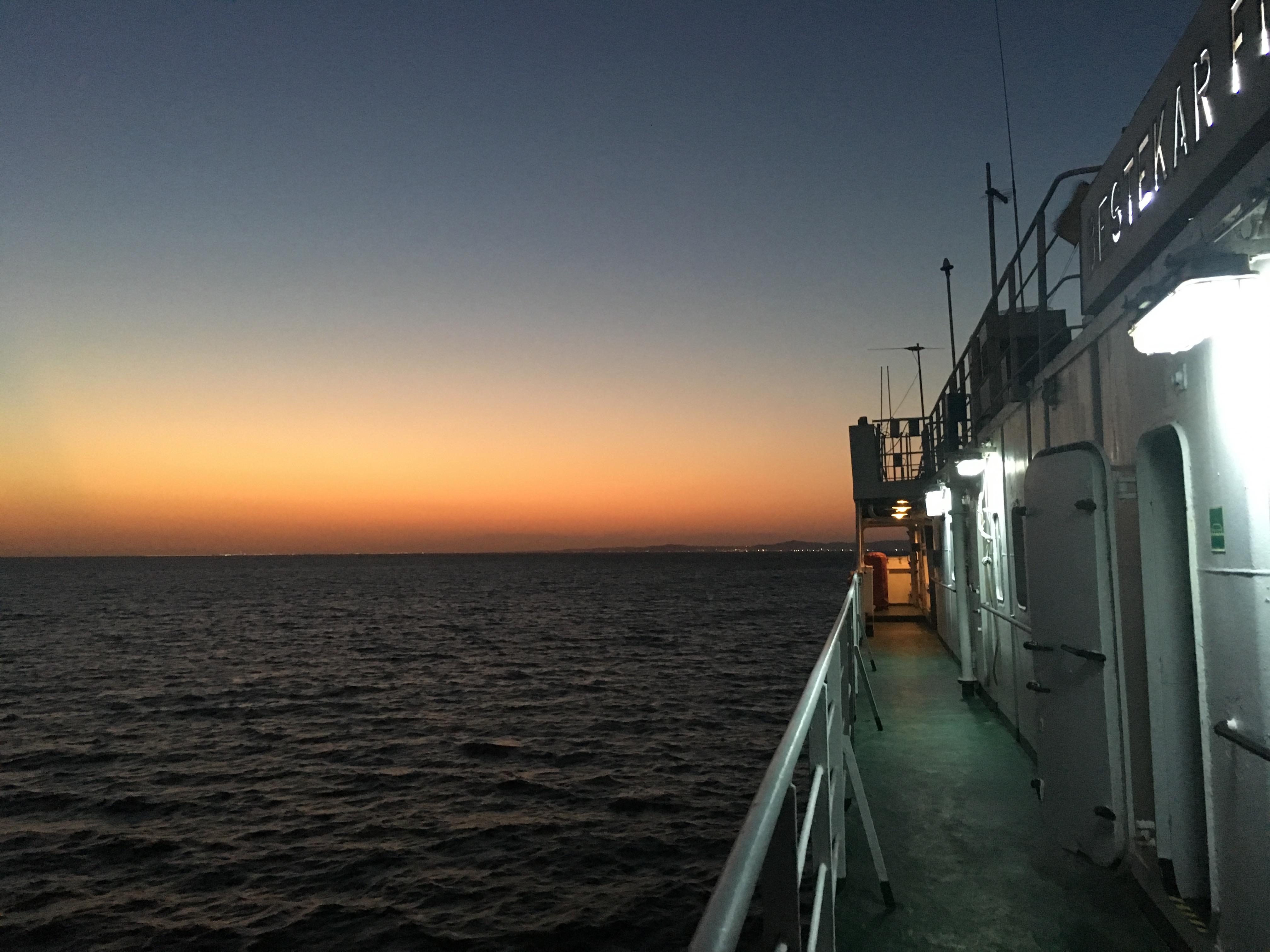 The Bureaucracy Diaires Crossing The Caspian Sea Shane And Georgia